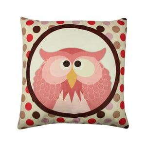 Vankúš Owl No. 3, 43x43 cm