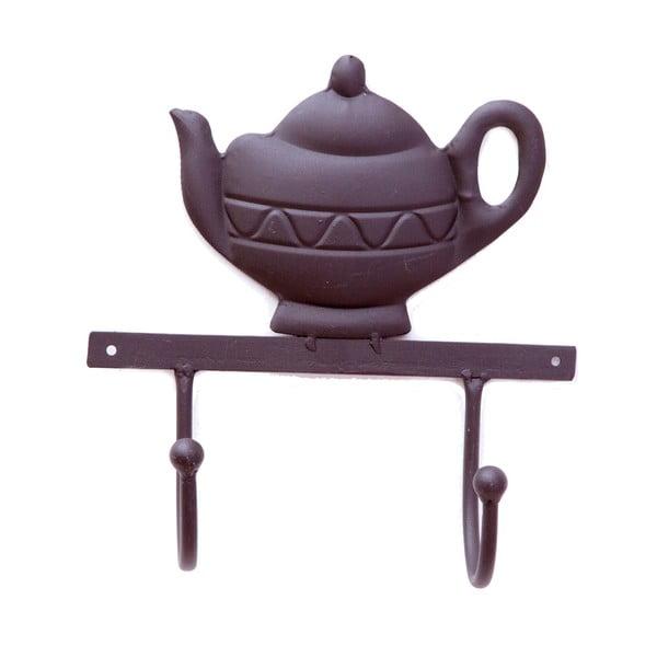 Nástenný vešiak Bolzonella Brown Teapot