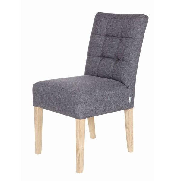 Sada 2 drevených stoličiek Tijmen Grey Oak
