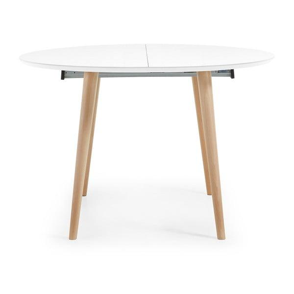 Rozkladací jedálenský stôl La Forma Oakland, dĺžka120-200cm