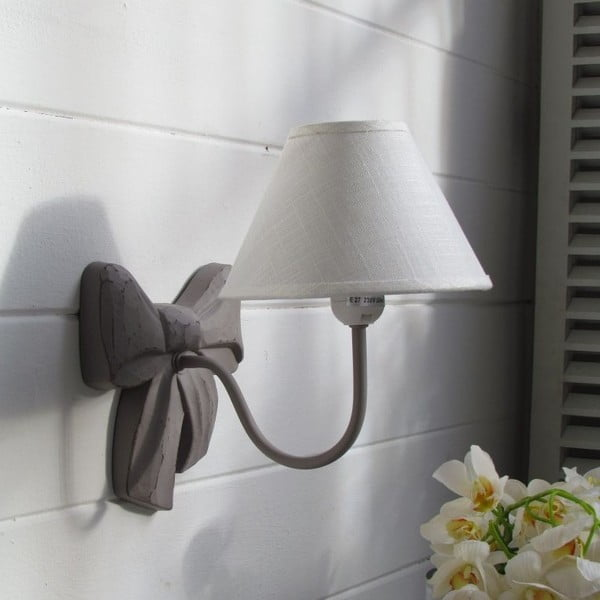 Nástenná lampa Ribbon Grey Antique