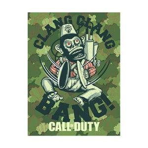 Obraz Pyramid International Call of Duty Evergreen Monkey Bomb, 60 × 80 cm