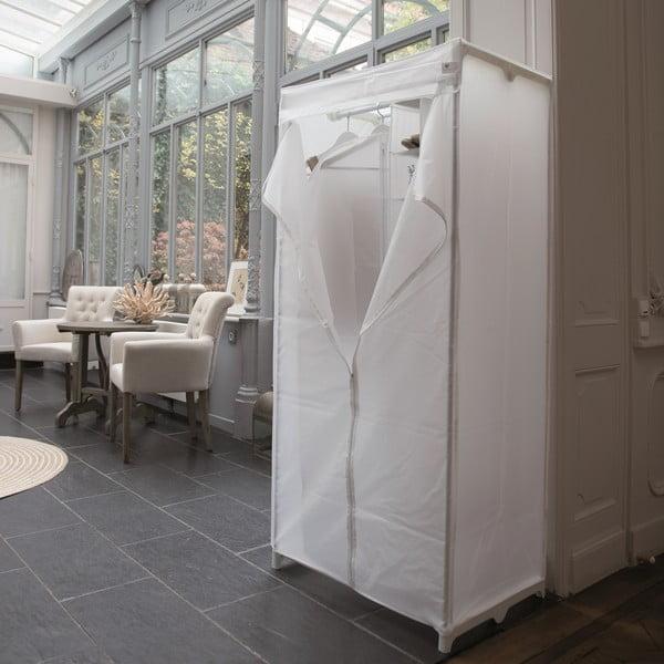 Šatníková textilná skriňa Milky, 160x75 cm