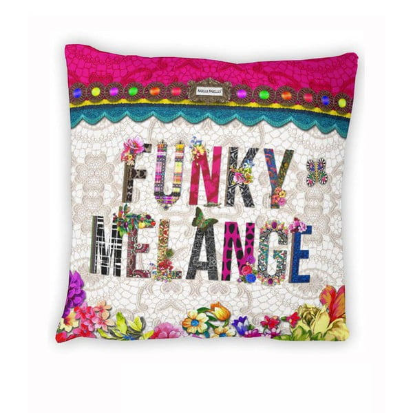 Obliečka na vankúš Melli Mello Funky Melange, 50x50cm