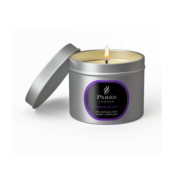 Sviečka s vôňou levandule a limetky Parks Candles London Lavender, 25 hodín horenia