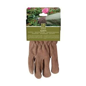 Záhradnícke rukavice s olivovým lemom Esschert Design Spelter
