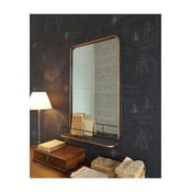 Nástenné zrkadlo s poličkou Orchidea Milano Orient E×press, 81 × 51 cm