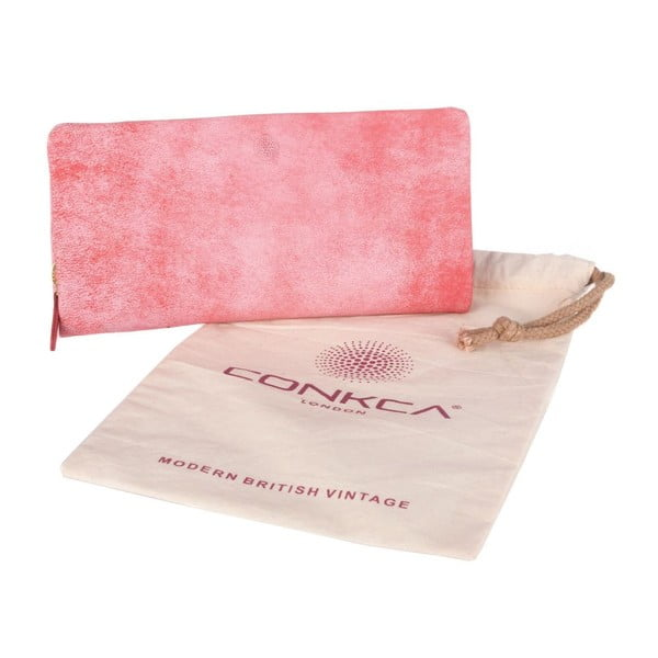 Kožená peňaženka Emelda Pink