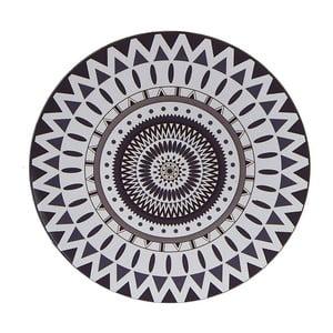 Plastový podnos Black and White, 33 cm