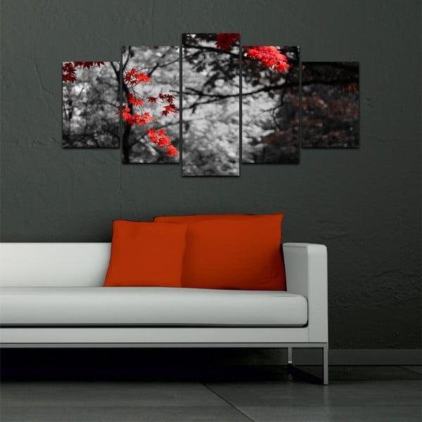 Viacdielny obraz Black&White no. 42, 100x50 cm
