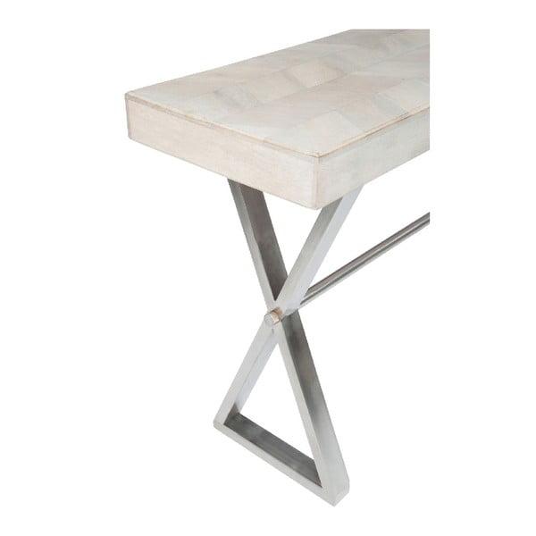 Konzolový stôl Chevron White