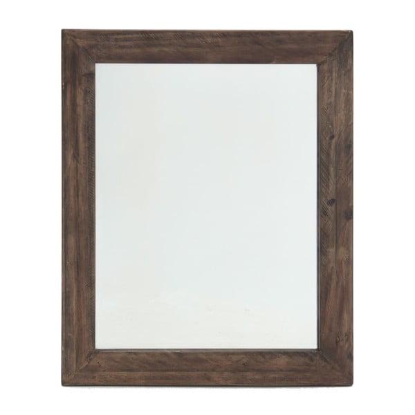 Nástenné zrkadlo In Brown, 85x102 cm