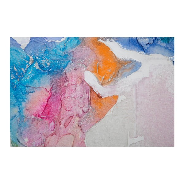 Viacdielny ručne maľovaný obraz Mauro Ferretti Mad World, 200×100 cm