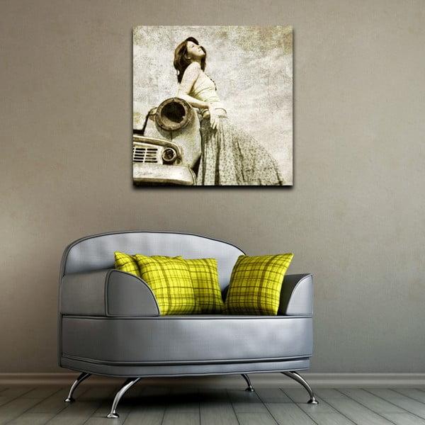 Obraz Stará láska nehrdzavie, 60x60 cm