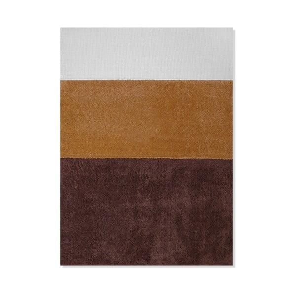 Detský koberec Mavis Brown Stripes, 100x150 cm