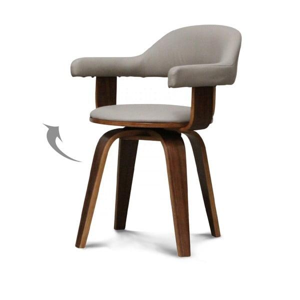 Otočná stolička Suedoise Taupe