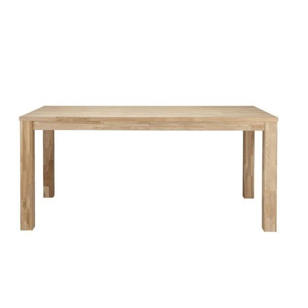 Drevený jedálenský stôl De Eekhoorn Largo Untreated, 90x200 cm