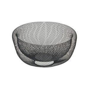 Čierna kovová dekoratívna misa Native Bowl, ⌀28,5 cm
