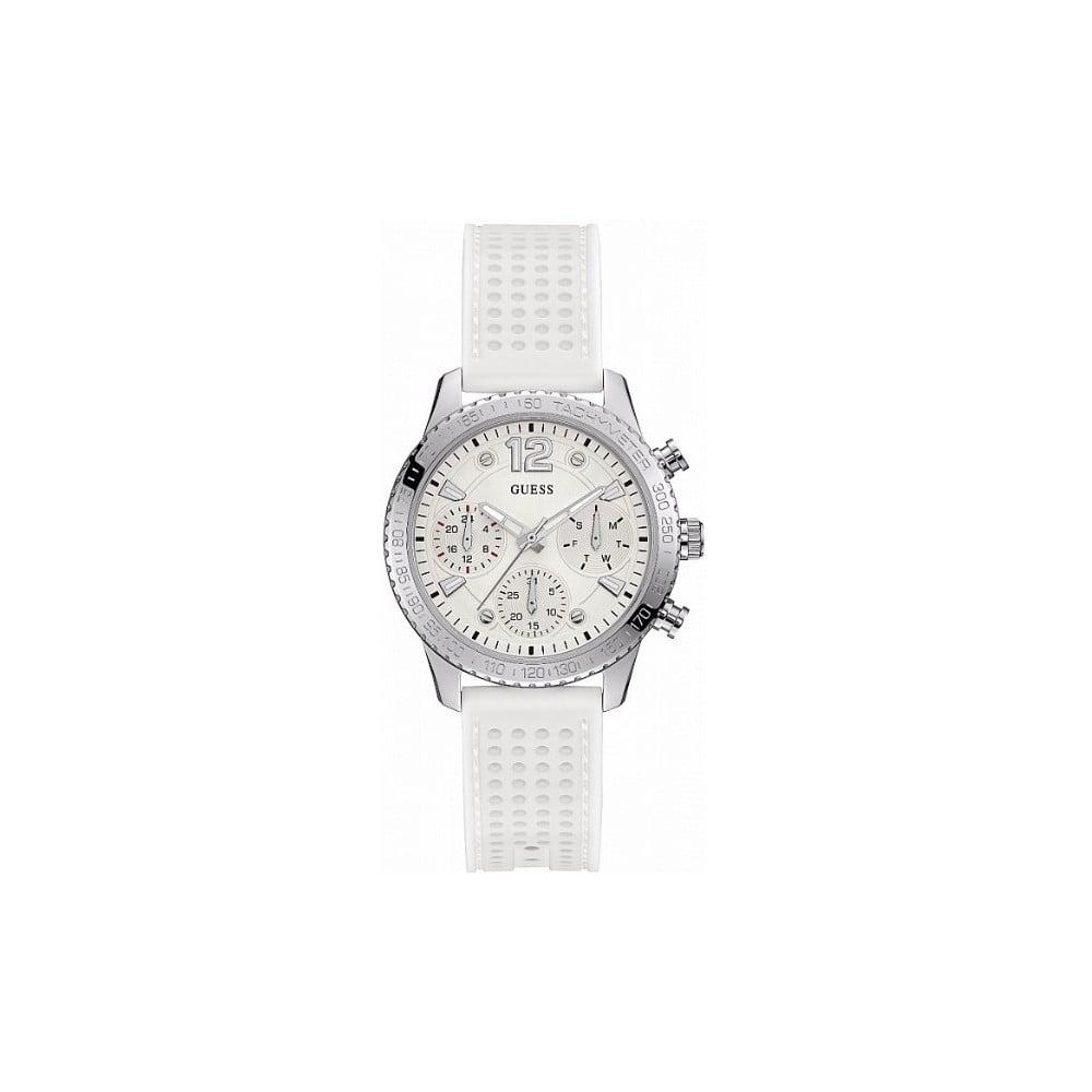 453d1ab3d Dámske hodinky s bielym silikónovým remienkom Guess W1025L1 | Bonami