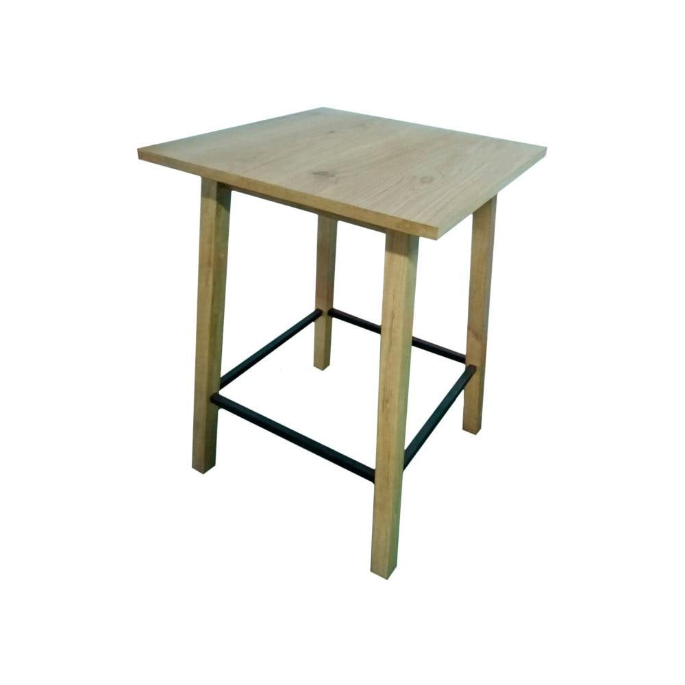 f157005d4107 Barový stolík s doskou z dubového dreva Simla Bar na predaj