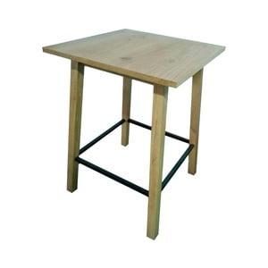 Hnedý barový stolík Actona Chara