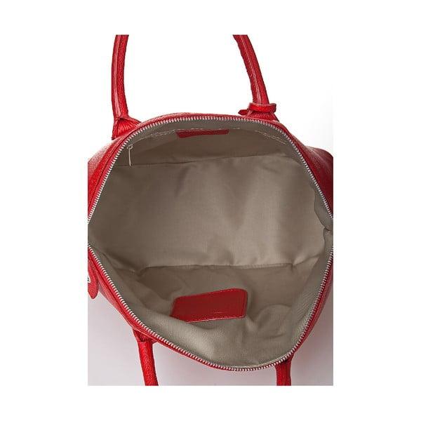Kožená kabelka Giorgio Costa 15024 Red
