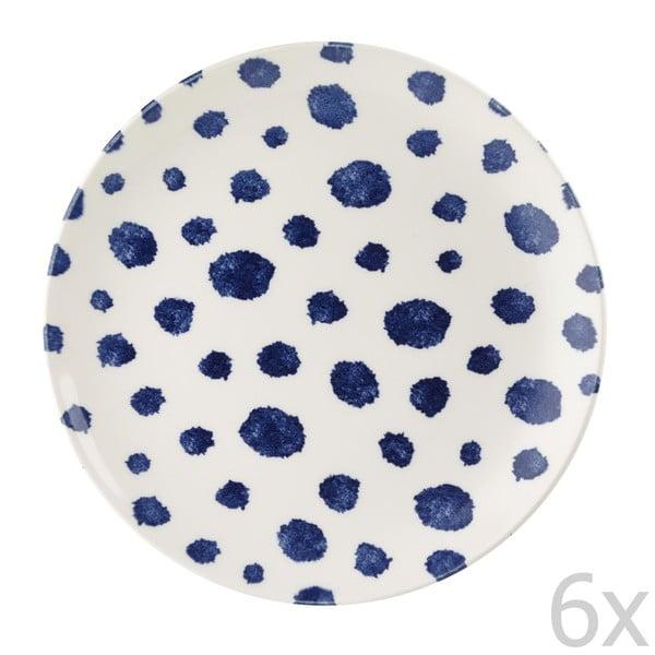 Sada 6 ks tanierov Inkie, 22,5 cm