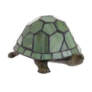 Zelená vitrážová lampa InArt Tortuga