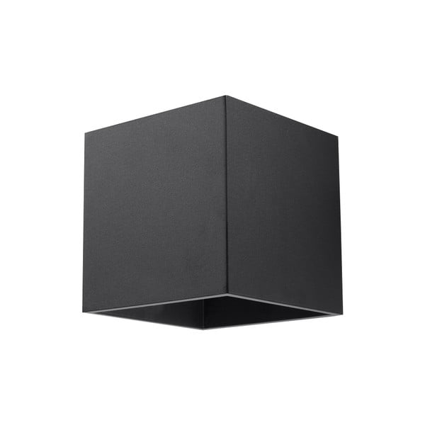 Čierne nástenné svetlo Nice Lamps Geo 1