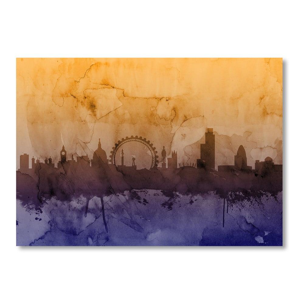 Plagát Americanflat London Day, 60 × 42 cm