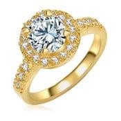 Dámsky prsteň zlatej farby Runaway Bride, 58