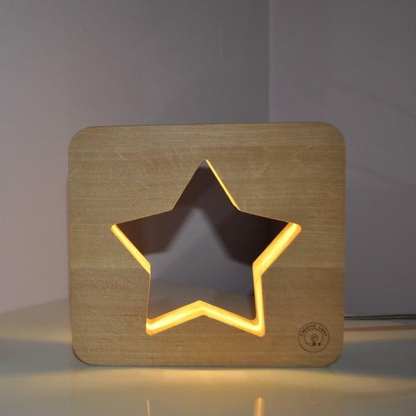 Detská lampička Creative Gifts Hviezdička