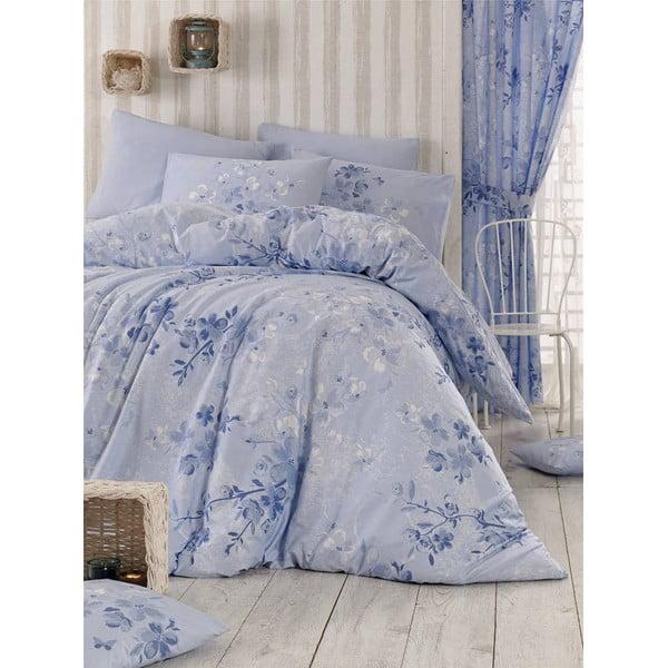 Obliečky s plachtou Elena Blue, 200x220 cm