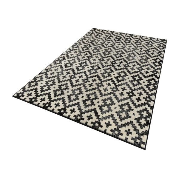 Čierno-biely koberec Zala Living Duo, 160×230cm