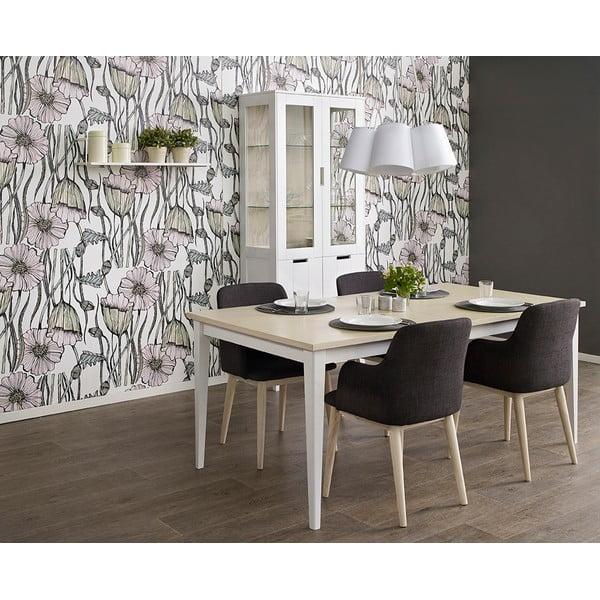 Rozkladací jedálenský stôl Aspero, 180x95 cm