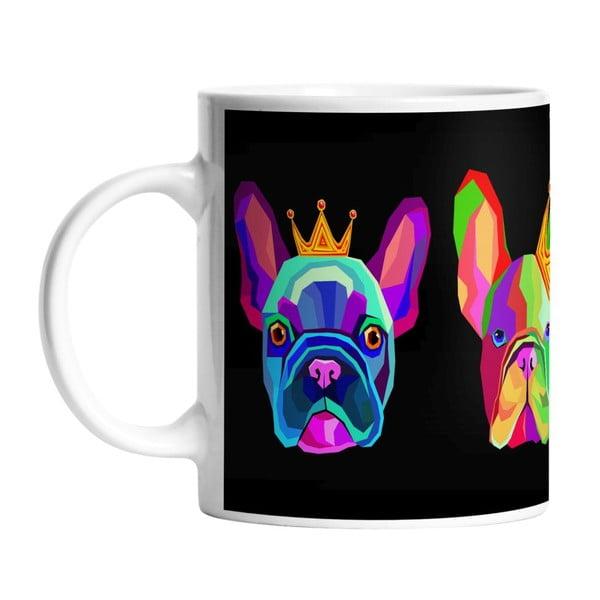 Keramický hrnček King Dog, 330 ml