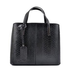Čierna kožená kabelka Roberta M Lucy Nero