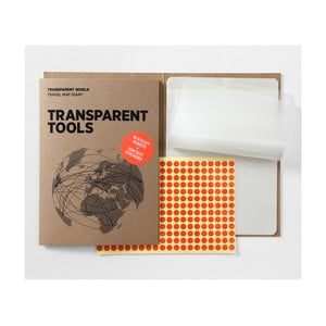 Náhradné priehľadné listy pre Transparent World mapu Palomar