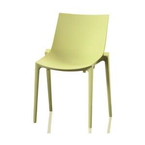 Svetlozelená jedálenská stolička Magis Zartan