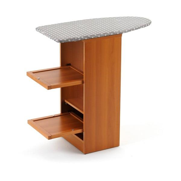 Skladacia žehliaca doska z bukového dreva so zásuvkami Arredamenti Italia Stirallegro