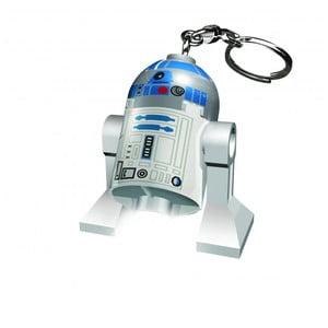 Svietiaca kľúčenka LEGO® Star Wars R2D2