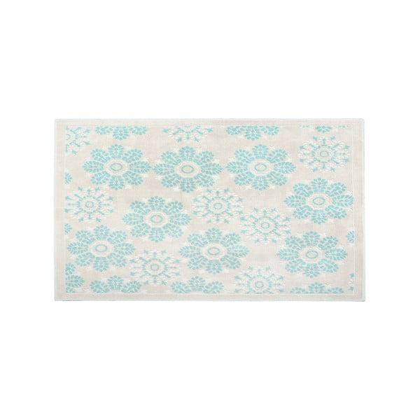 Bavlnený koberec Randa 160x230 cm, modrý