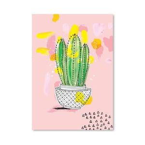 Plagát Cactus, 30x42 cm