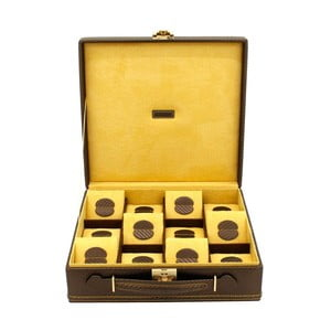 Krabička na hodinky Carbon 12 Brown