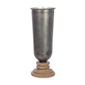 Okrúhla váza Grey Nat, 20 cm