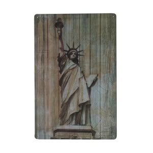 Ceduľa Statue of Liberty, 20x30 cm
