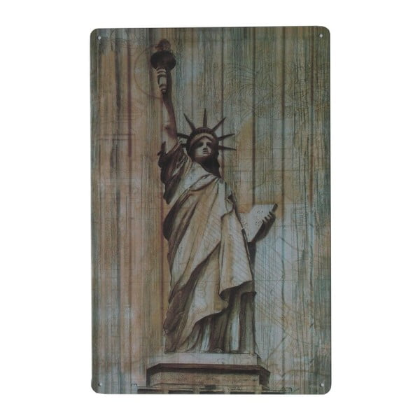 Ceduľa Statue of Liberty, 20x30 cm