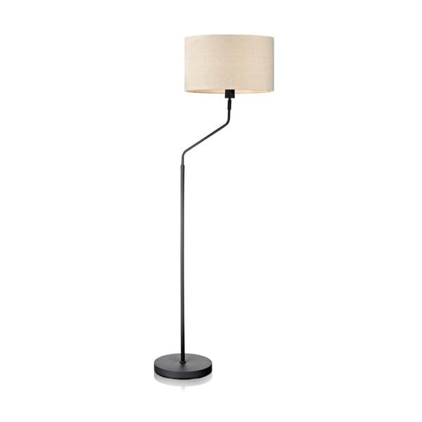 Stojacia lampa Markslöjd Manhattan, sivobiela