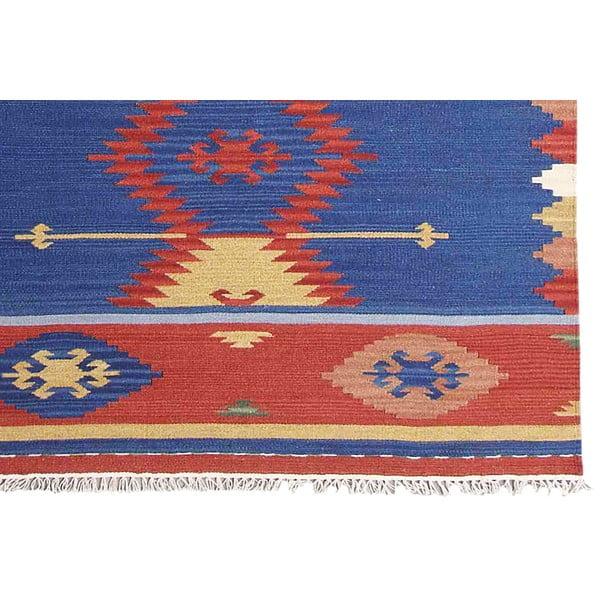 Ručne tkaný koberec Kilim Classic K78, 125x185 cm