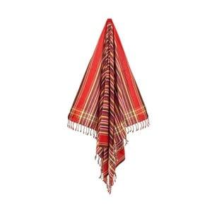Osuška/pareo Metin Red, 100x178 cm